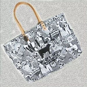 Will Leather Goods Reversible Tote Bag - Skulls